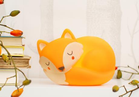 Für süße Träume im Babybettchen sorgen kleine Nachtlichter in niedlichen Motiven!