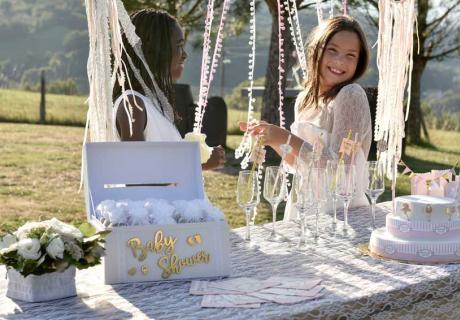 Deko-Tipp: Geschenkbox für deine Babyparty-Mitgebsel