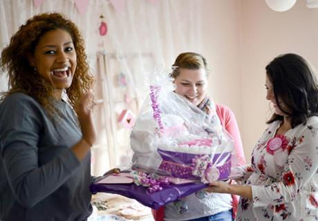 Beschenke und wertschätze die Bald-Mama auf ihrer Babyparty :)