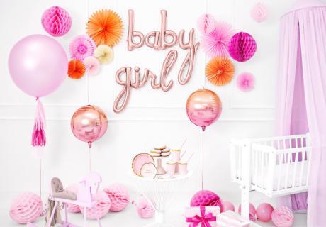 Verleih deiner rosa Babyparty-Deko mehr Facetten durch Abstimmung mit anderen Farben