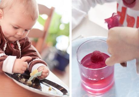 Für die Babyparty mit Kindern besorgst du am besten kleine und bunte Naschereien