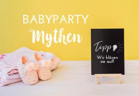 Du hast Vorurteile über Babypartys gehört? Wir räumen damit auf