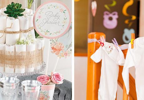 Babypartygeschenke dürfen gern schön UND nützlich sein :)