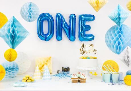 Finde die passende Deko zum 1. Geburtstag für deinen Sohn