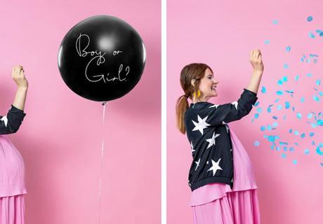 Noch mehr Partydeko für eine spannende Gender Reveal findest du in unserem Shop!