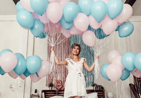 Gender Reveal - so machst du es mit Luftballons (c) kisu