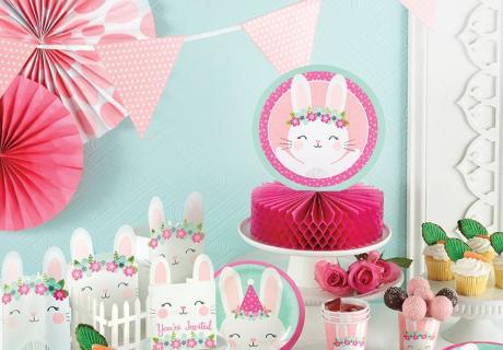 Cuteness Overload! Häschen Deko für den 1. Geburtstag kleiner Mädchen