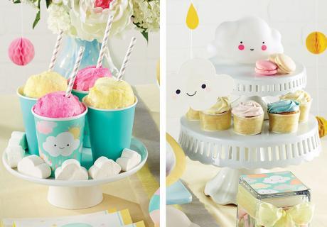 Süßigkeiten für den Sweet Table mit Wolken und Sonne