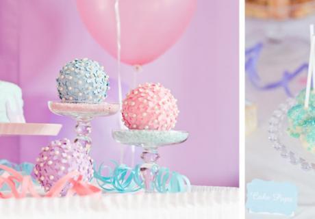 Süßigkeiten für den Sweet Table in pastelligen Farben