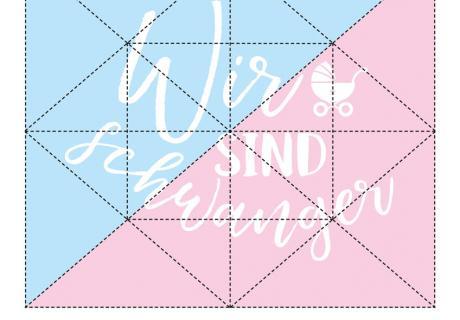 Überrasche deine Liebsten spielerisch mit deiner Schwangerschaftsbotschaft - mit unserem Puzzle als Gratis-Download!