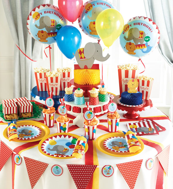Bunter Kindergeburtstag Mit Zirkus Thema Baby Belly Party Blog