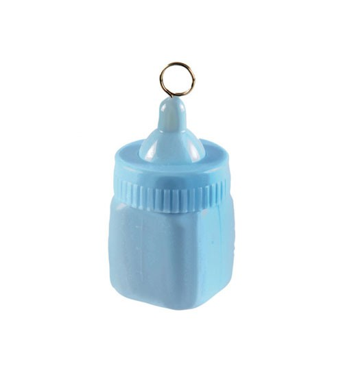 "Ballongewicht ""Babyflasche"" - blau"