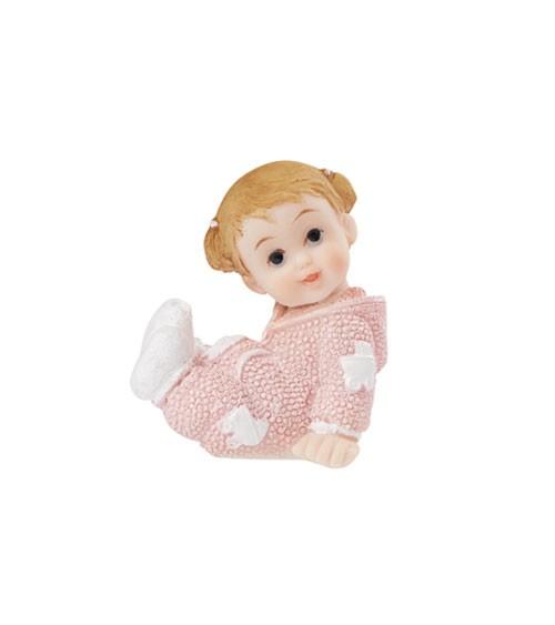"""Deko-Figur """"Baby Girl"""" - 4 cm"""