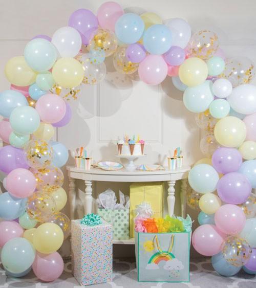 "Ballongirlanden-Set ""Pastell"" - 112-teilig"