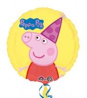 "Runder Folienballon ""Peppa Wutz"""