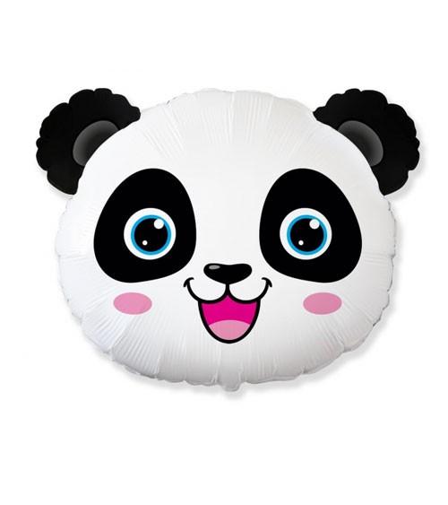 "SuperShape-Folienballon ""Fröhlicher Panda"" - 65 x 53 cm"