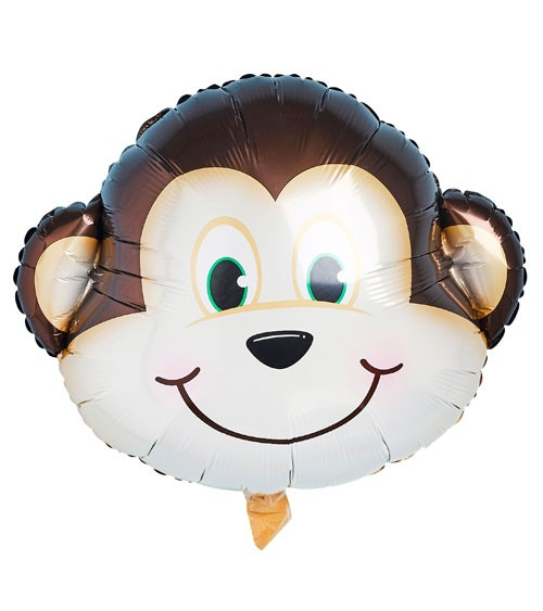 """SuperShape-Folienballon """"Äffchen"""" - 60 cm"""
