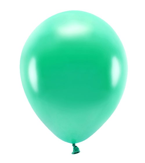 Metallic-Ballons - grün - 30 cm - 10 Stück