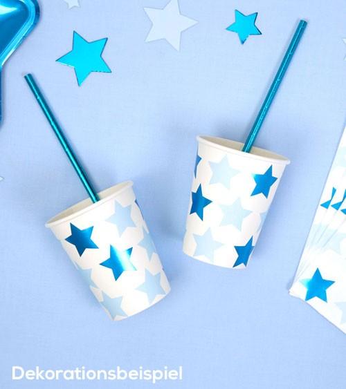 """Pappbecher """"Little Star Blue"""" - 8 Stück"""