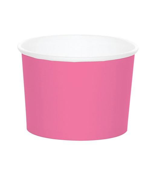 Eisbecher - candy pink - 6 Stück