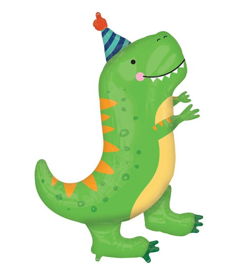 "SuperShape-Folienballon ""Dino-Birthday"" - 66 x 86 cm"