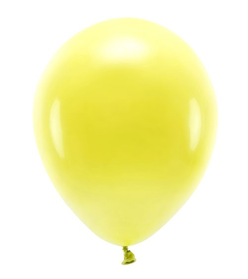 Standard-Ballons - gelb - 30 cm - 10 Stück