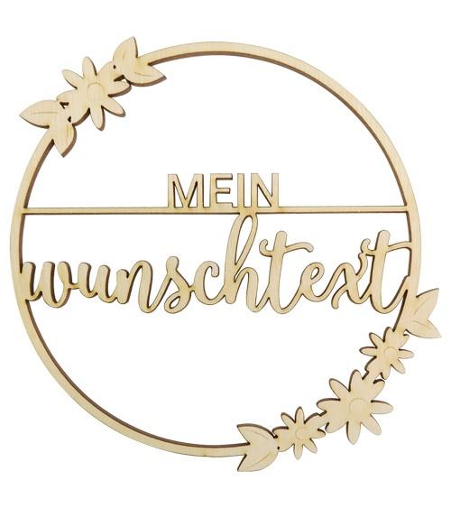 """Deine Hängedekoration """"Daisies"""" - Wunschtext"""