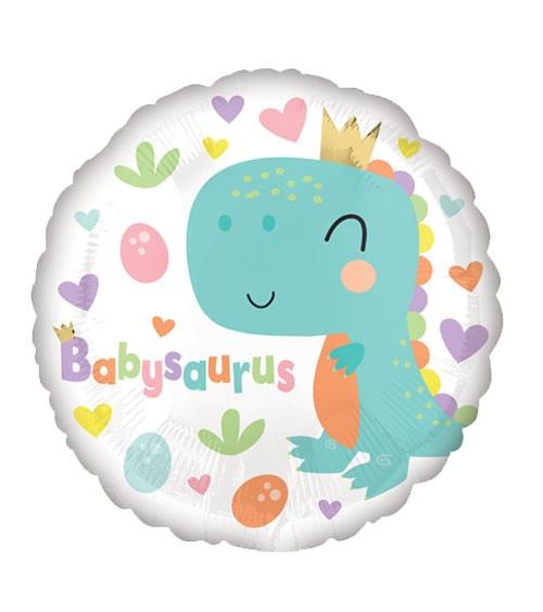 "Runder Folienballon ""Babysaurus"" - 43 cm"