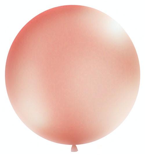 Riesenballon - rosegold metallic - 1 m