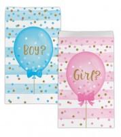 """Papiertüten """"Girl or Boy?"""" - 10 Stück"""