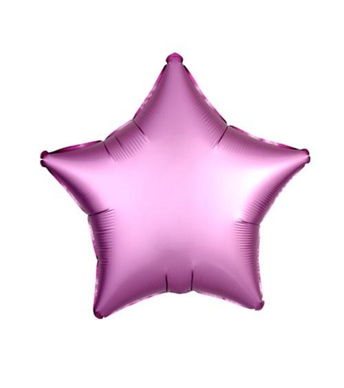 """Stern-Folienballon """"Satin Luxe"""" – rosa – 48 cm"""