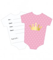 babyparty-einladungskarten in niedlichen designs