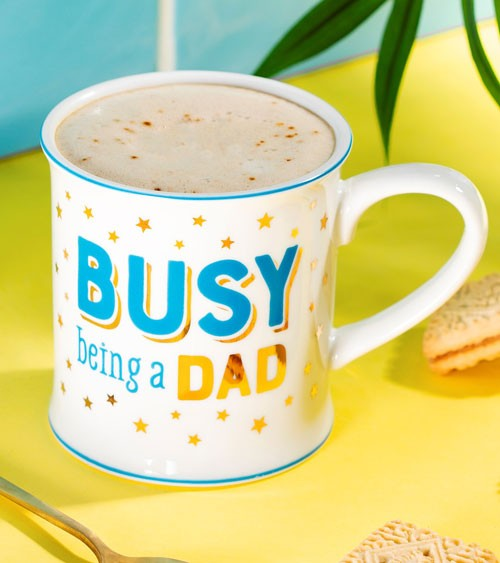 "Tasse aus Porzellan ""Busy being a Dad"""