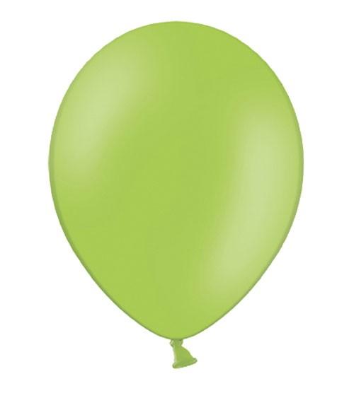 Standard-Luftballons - hellgrün - 10 Stück