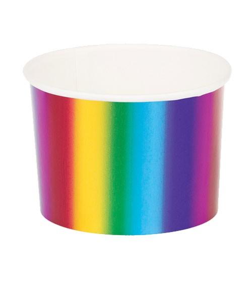 "Eisbecher ""Rainbow Metallic"" - 6 Stück"