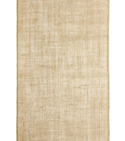 Tischläufer aus Jute - natur - 28 cm x 5,0 m