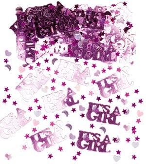 """It's a girl""-Streukonfetti - 14 g"