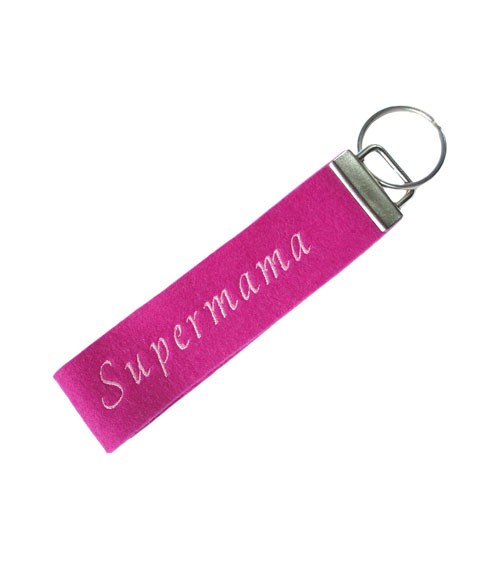 """Schlüsselanhänger """"Supermama"""""""