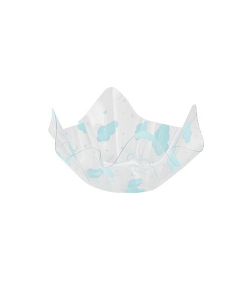 """Servierschale """"Wolken"""" - hellblau - 13 x 7 cm"""