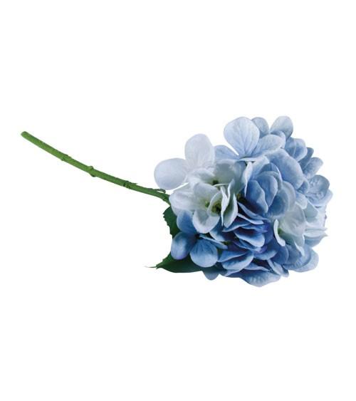 Künstliche Hortensie - hellblau - 33 cm