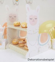 """Cupcake-Ständer """"Lama Love"""""""