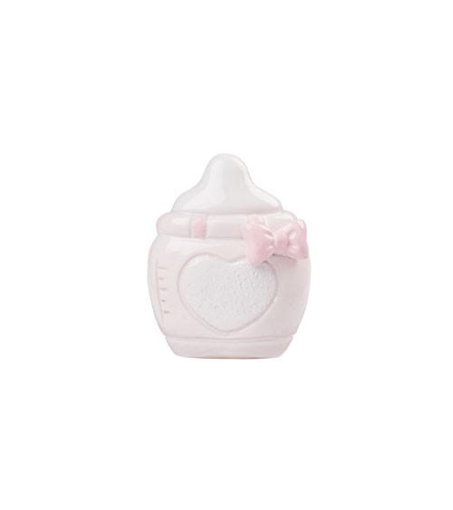 "Deko-Figur ""Baby Girl Flasche"" - 3,5 cm"