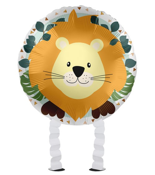 "Walking-Folienballon ""Jungle Friends"" - Löwe - 43 cm"