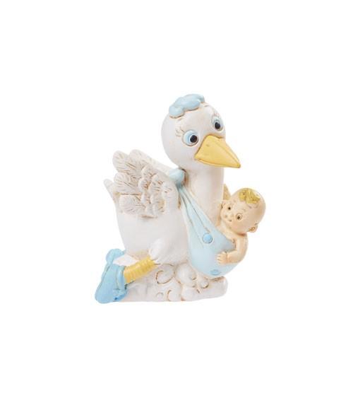 """Deko-Figur """"Baby-Boy Storch"""" - 5,5 cm"""