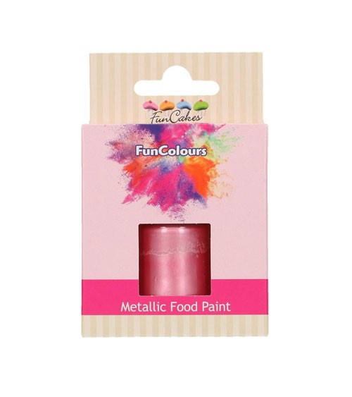 FunCakes Lebensmittelfarbe - metallic baby pink - 30 ml