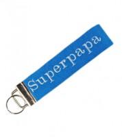 """Schlüsselanhänger """"Superpapa"""""""