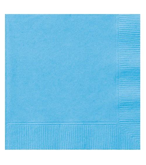 "Servietten ""Powder Blue"" - 20 Stück"