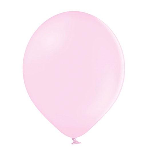 Standard-Luftballons - pastell rosa - 30 cm - 10 Stück