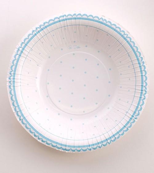 """Pappschüsseln """"Petit Blue"""" - 8 Stück"""