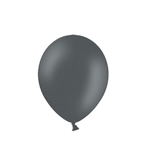 Mini-Luftballons - grau - 12 cm - 100 Stück